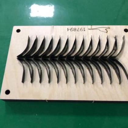 厂家定制 纸箱圆压 亚克力珍珠棉海绵 雕刻激光刀模 量大从优