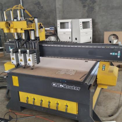 三工序数控开料机全自动板式家具雕刻机1325木工数控下料机发货快