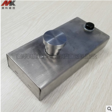 1000KG不锈钢磁性边模固定磁盒Shuttering Magnet