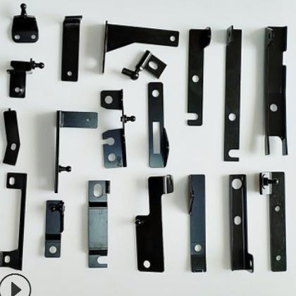 快速定制气弹簧非标铁卡汽车液压支撑杆连接卡片支撑杆异性铁卡件