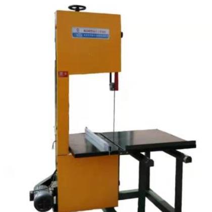 厂家直销 MJ345型细木工推台带锯机 木工机械小型带锯机