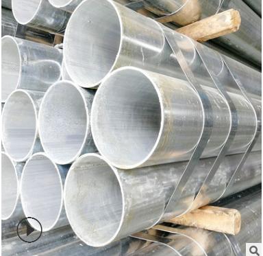 广东管材 镀锌管 Q235 镀锌钢管 友发消防水管 大棚管 圆管dn100