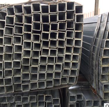 50*50*2黑料方管镀锌板管可加工 热镀锌方矩管热浸镀锌方管Q25
