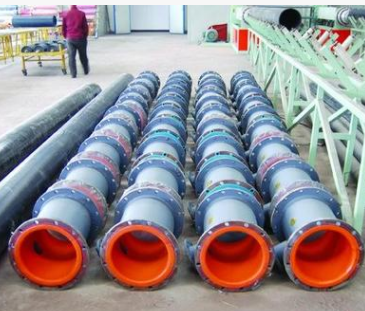 化工行业专用管道,防腐钢橡复合管道信息