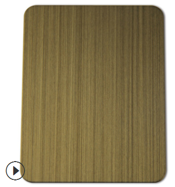 不锈钢拉丝发黑黄铜板 镀黑黄古铜板 红古铜青古铜板 来样定制