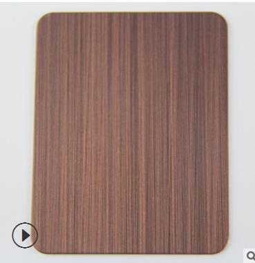 不锈钢拉丝红古铜板 铜板发黑 青古铜 黄古铜 304板材来样定制