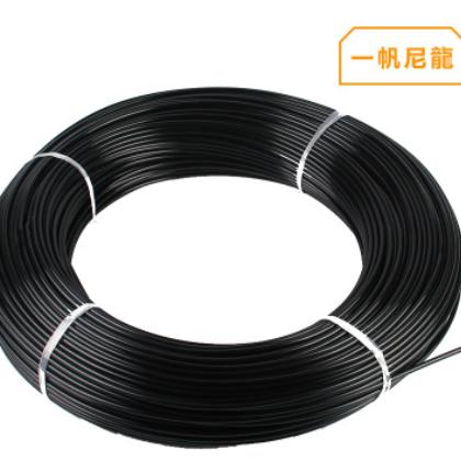 现货供应制动耐高压软管 气动液压黑色尼龙管PA6 PA12 批发