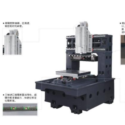 生产定制DY8080大型高速龙门雕铣机电动高速数控雕铣机模具精雕机