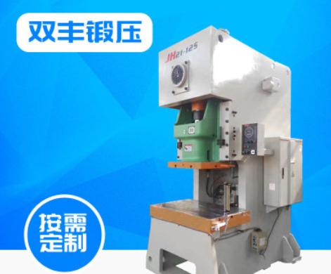 淄博厂家供应冲床压力机 JH21系列气动压力机 精密125T型气动冲床