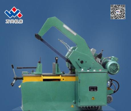 供应HS系列 HS7125弓锯床 出口标准 金属液压弓锯床 高精度高品质