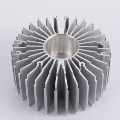 铝散热器开模定做 电源铝散热器 LED路灯模组散热器 灯管铝型材