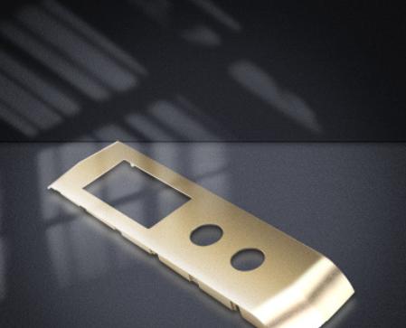 纯铝压铸加工 纯铝压铸模具加工订制电梯面板智能锁面板外壳
