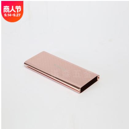 跨境充电宝铝外壳厂家供应 铝制移动电源铝外壳 铝合金电源壳定制
