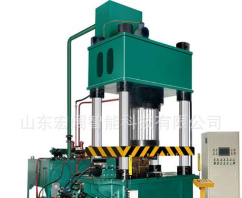 315吨四柱液压机铜皮火锅拉伸成型单动双杆拉伸机五金制品压力机
