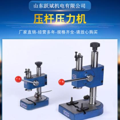 上海申康压力机手动压力机压杆式压杆冲床/0.2T/0.3T/0.5T
