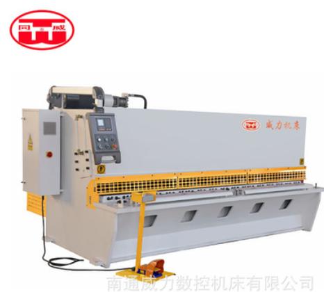 南通威力厂家直销摆式闸式大型数控剪板机可剪切铝板不锈钢板料