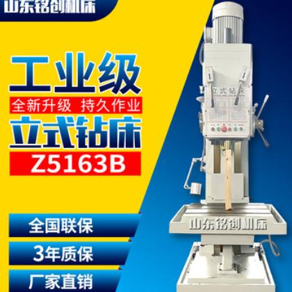 厂家直销Z5163B立式钻床方形立柱大孔径深孔钻床自动进刀价格优惠