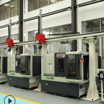 川禾数控 桁架数控自动化车床T-8A CNC机械加工自动化设备